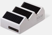 Kraftfulla solcellsladdare med reklamtryck