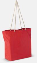 Beachbag string med snörhandtag med reklamtryck