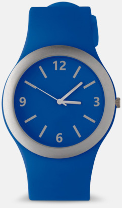 Mörkblå Klockor med silikonband med reklamtryck