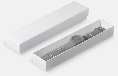 Presentförpackning Klockor med silikonband med reklamtryck
