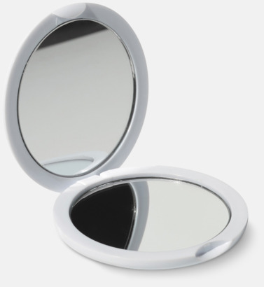 Kompakta fickspeglar med reklamtryck