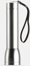 Ficklampa med powerbank med reklamtryck