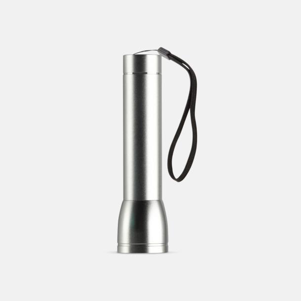 Silver Ficklampa med powerbank med reklamtryck
