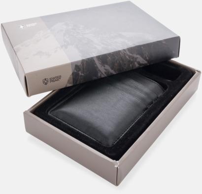 Presentförpackning Powerbank med kortfack med reklamtryck