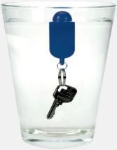 Flytande nyckelringar med reklamtryck