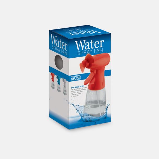 Presentförpackning Fläkt med vattenspray med reklamtryck