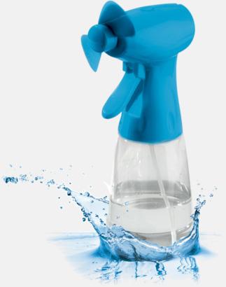 Fläkt med vattenspray med reklamtryck