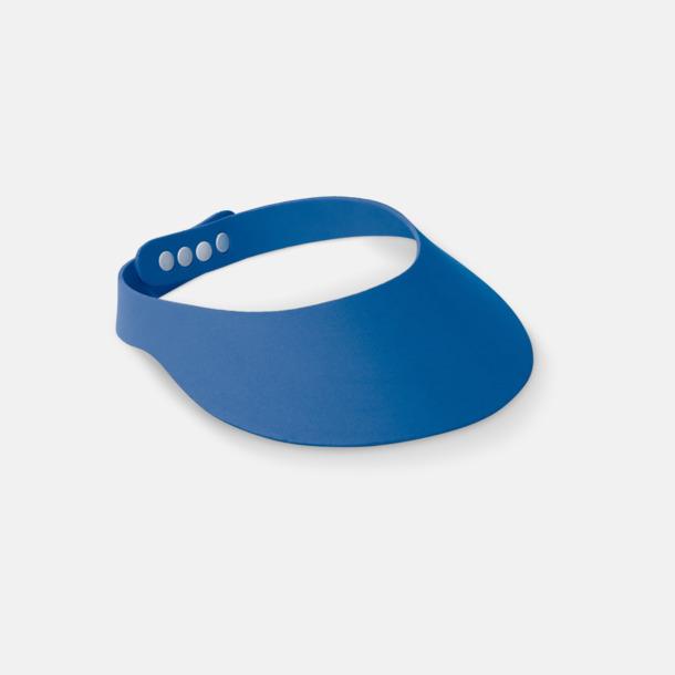 Blå Solskärmar i EVA-material med reklamrtryck