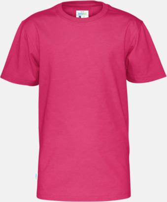 Cerise (barn) Multicertifierade t-shirts med reklamtryck