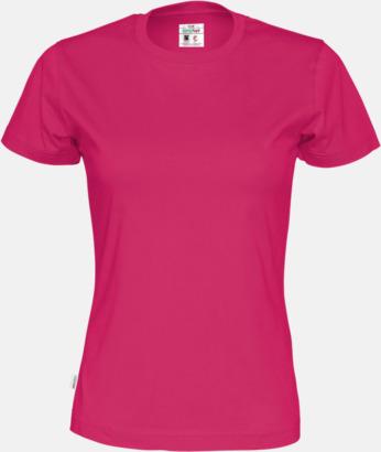 Cerise (dam) Multicertifierade t-shirts med reklamtryck