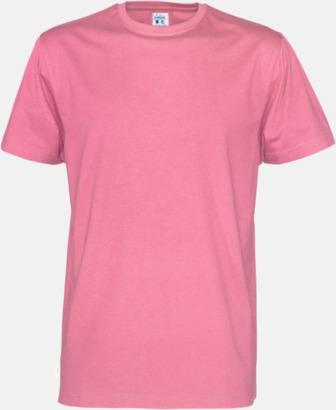 Rosa (herr) Multicertifierade t-shirts med reklamtryck
