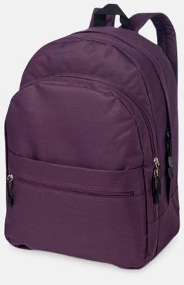 Lila Trendigt designade ryggsäckar med tryck
