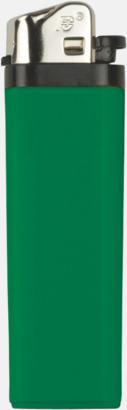 Grön Billiga engångständare med reklamtryck