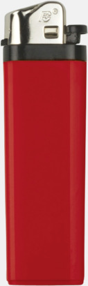 Röd Billiga engångständare med reklamtryck