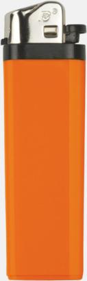 Orange Billiga engångständare med reklamtryck