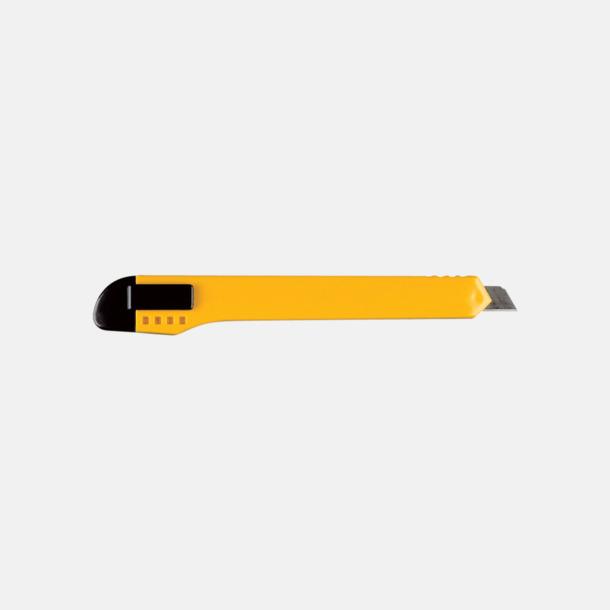 Gul Brytbladsknivar med reklamtryck