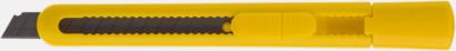 Gul Brytknivar med lock - med reklamtryck