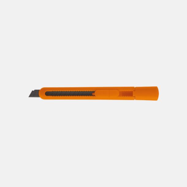 Orange Brytknivar med lock - med reklamtryck