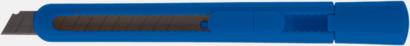 Blå Brytknivar med lock - med reklamtryck
