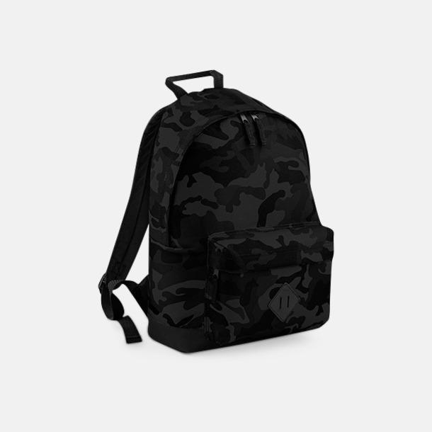 Midnight Camo Kamouflagemönstrade ryggsäckar med brodyr eller tryck