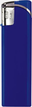 Blå Snygga tändare i plast med reklamtryck