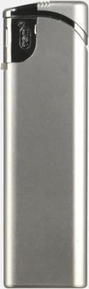 Silver Snygga tändare i plast med reklamtryck