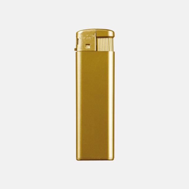 Guld Förgyllda tändare med reklamtryck