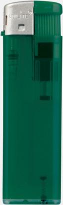 Transparent Mörkgrön Transparenta tändare med reklamtryck