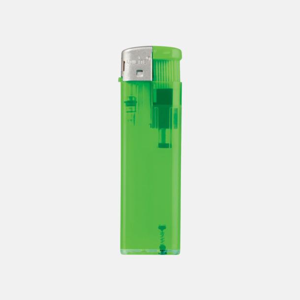 Transparent Ljusgrön Transparenta tändare med reklamtryck