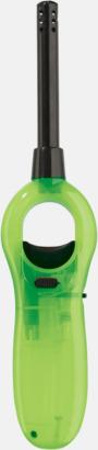 Transparent Ljusgrön Frostade braständare med reklamtryck