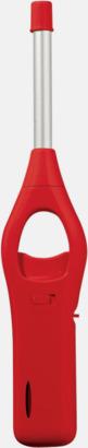 Röd Barnsäkra brastänadre med reklamtryck