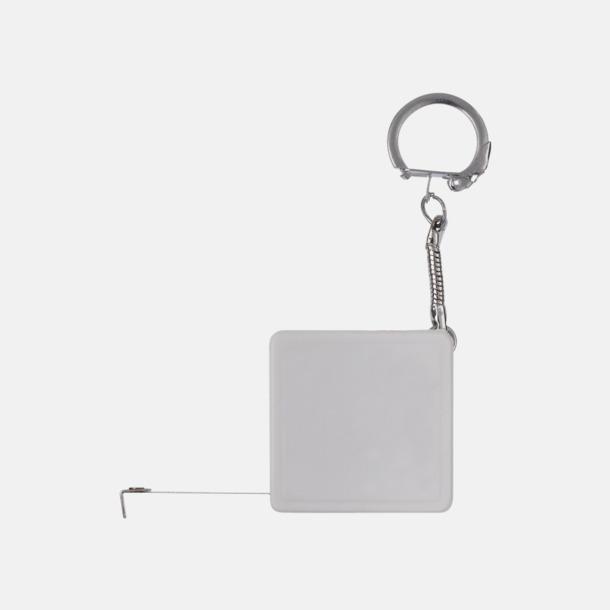 Fyrkantiga nyckelringar med reklamtryck