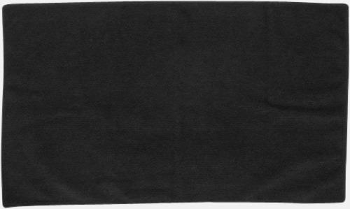 Svart (70 x 140 cm) Microfiber handdukar i 3 storlekar med reklambrodyr