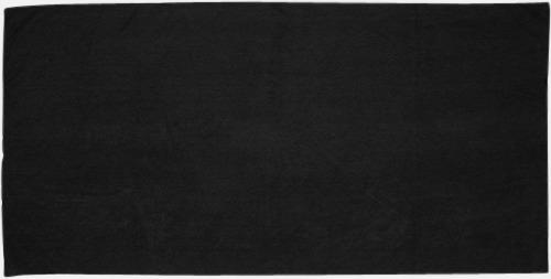 Gästhandduk Svart Microfiber handdukar i 3 storlekar med reklambrodyr