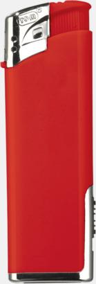 Röd Tändare med lampa med reklamtryck