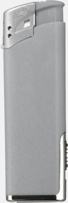 Silver Tändare med lampa med reklamtryck