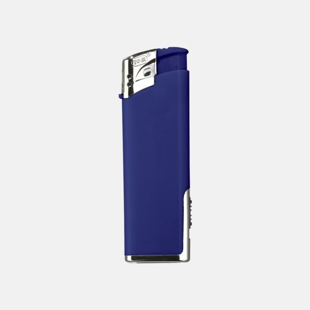 Blå Tändare med lampa med reklamtryck