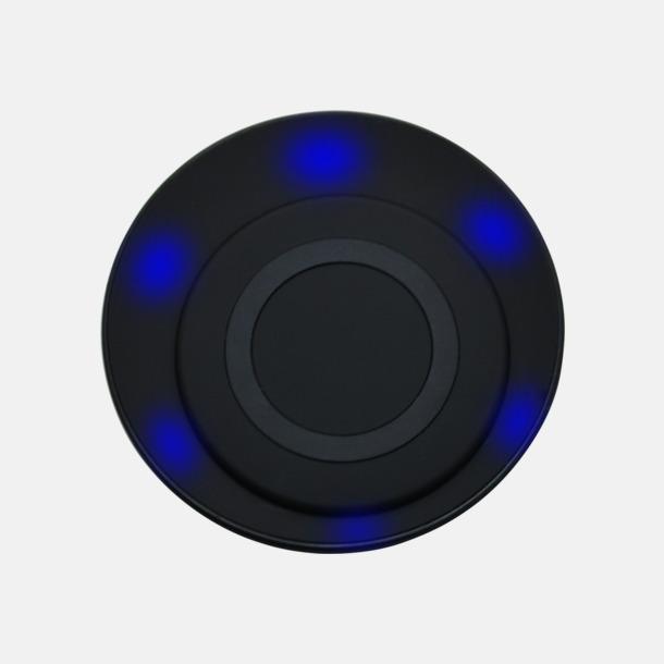 LED-funktion Trådlös laddningsplatta för smartphones med egen logga