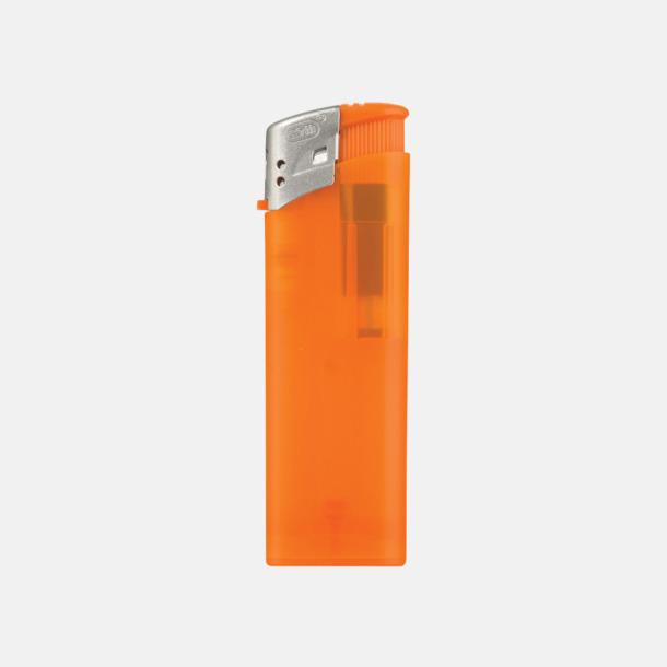 Orange Frostade tändare med reklamtryck