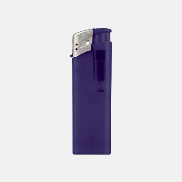 Mörkblå Frostade tändare med reklamtryck
