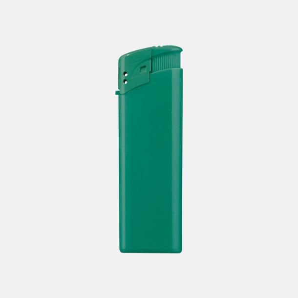Grön Klassiska, enfärgade tändare med reklamtryck