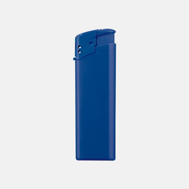 Blå Klassiska, enfärgade tändare med reklamtryck
