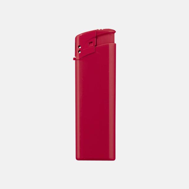 Röd Klassiska, enfärgade tändare med reklamtryck