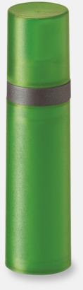 Grön Pumpsprej med olika innehåll med reklamtryck
