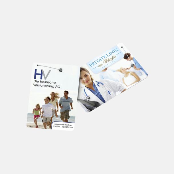 Greeting Card (se tillval) Dentocard med tandtråd med eget tryck