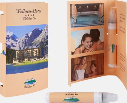Pocket Greeting Card (se tillval) Handlotion i smidig förpackning med reklamtryck