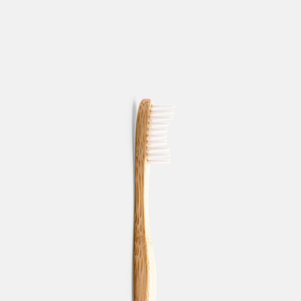 Miljövänliga tandborstar i kartong med eget tryck