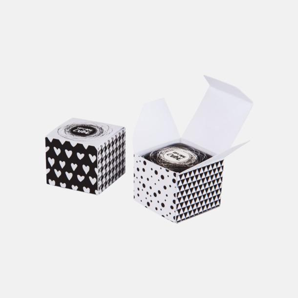 Cube box (se tillval) Läppbalsam i kub med lock med eget reklamtryck