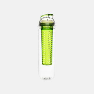Sportiga vattenflaskor med fruktkolv från Sagaform