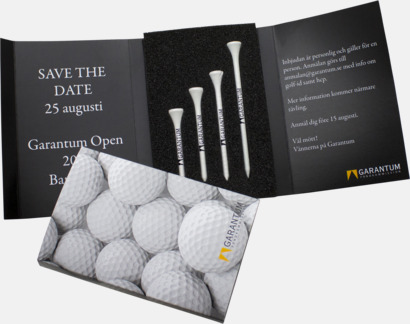 Golf Inbjudningskort - Fodral för golfinbjudningar